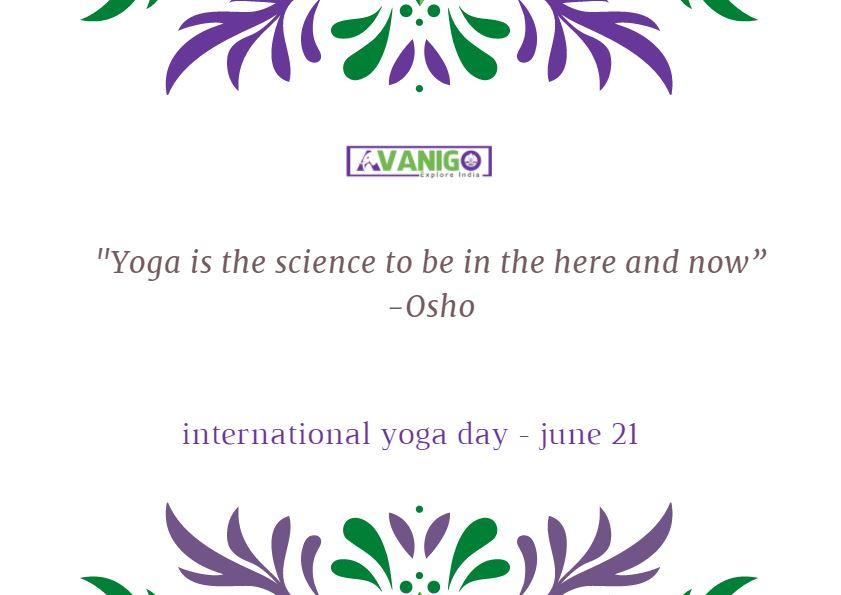 Motivational Quotes Yoga: International Yoga Day