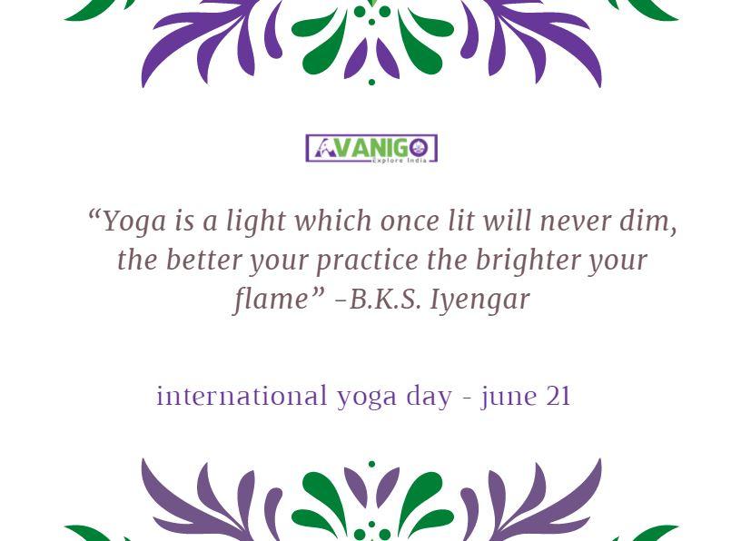 Yoga Quotes For Motivation: International Yoga Day