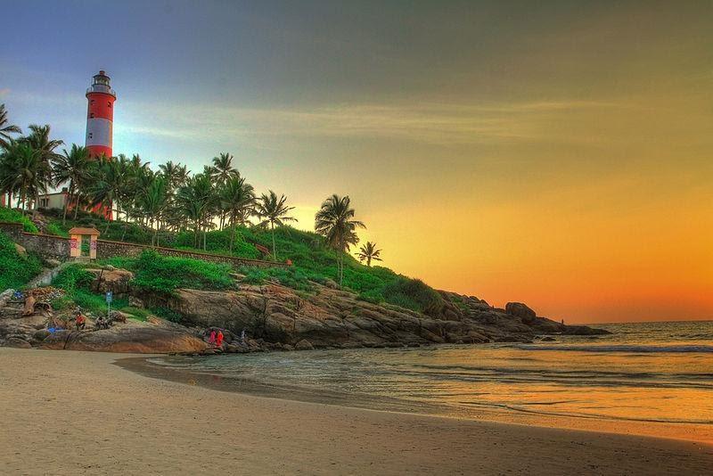Trivandrum Tourist Places: Kovalam Beach