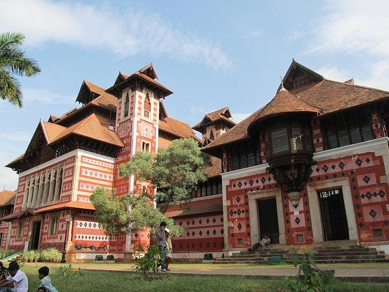 Napier Museum at Trivandrum.