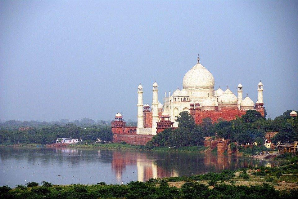 River View with Taj