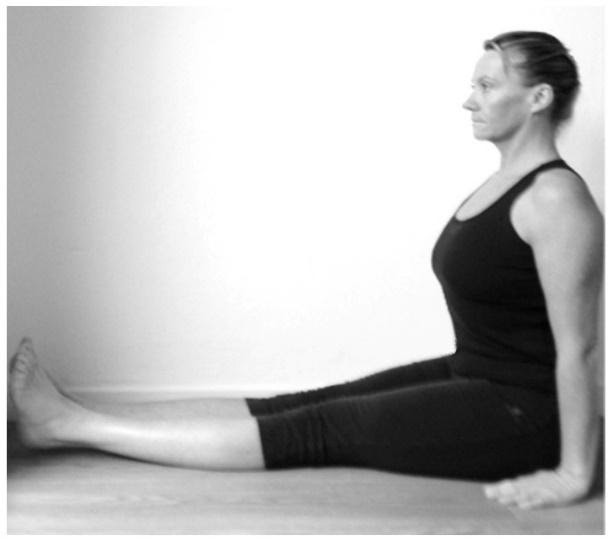 What is Dandasana Staff Pose