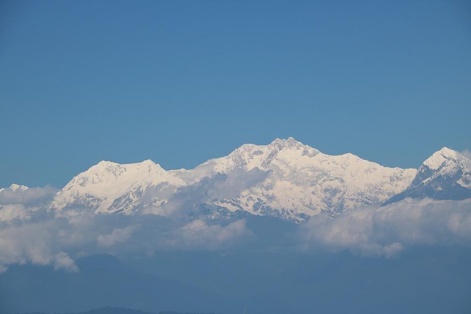 Mountain Kanchenjunga, Darjeeling