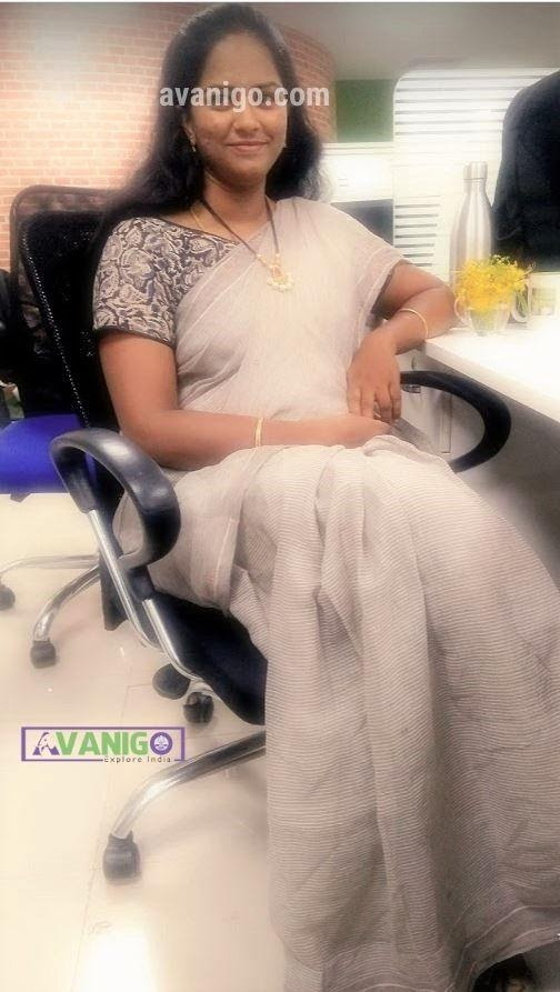 Simple South Cotton saree with Printed Kalamkari Blouse for Office