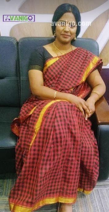 Tamil Chettinad Saree with matching blouse for Traditional Occasions
