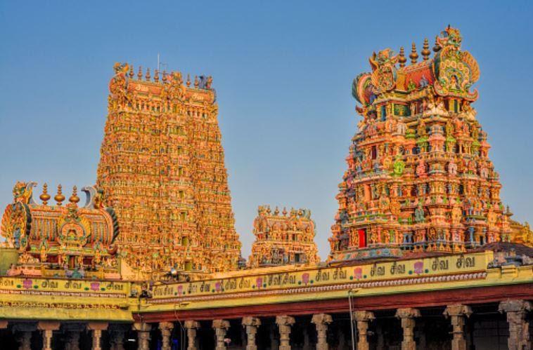 Madurai Meenakshi Temple, Tamilnadu
