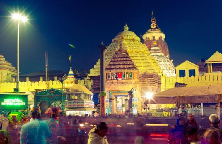 Puri Jagannath Temple, Odisha