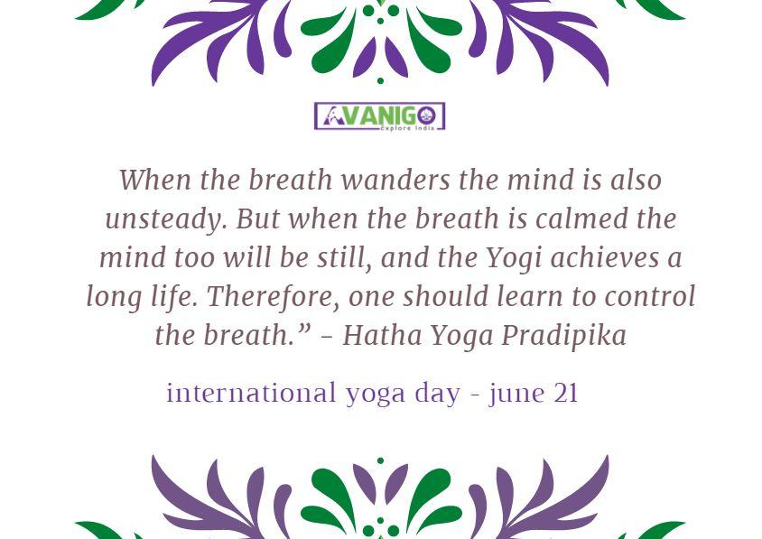 Yoga Quotes: International Yoga Day