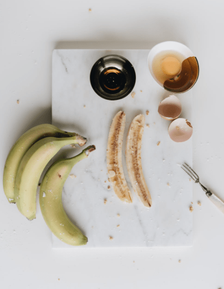 Protein Rich Vegetarian Food: Banana and Eggs