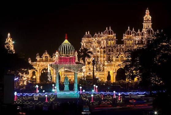 light in temple