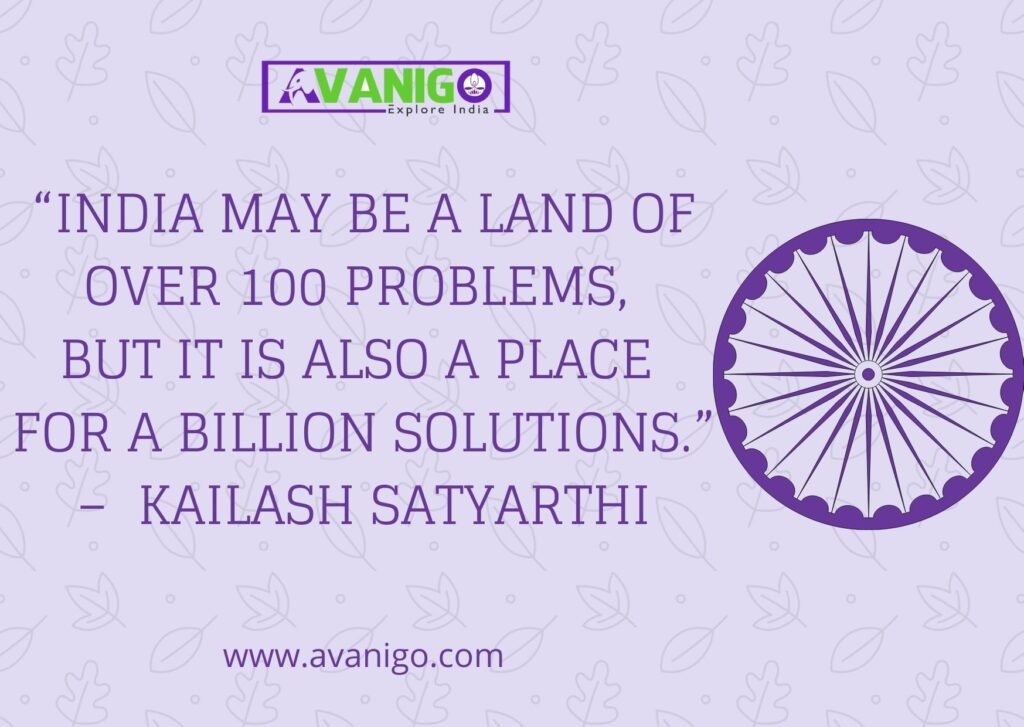 Indian Culture Quote by Kailash Satyarthi