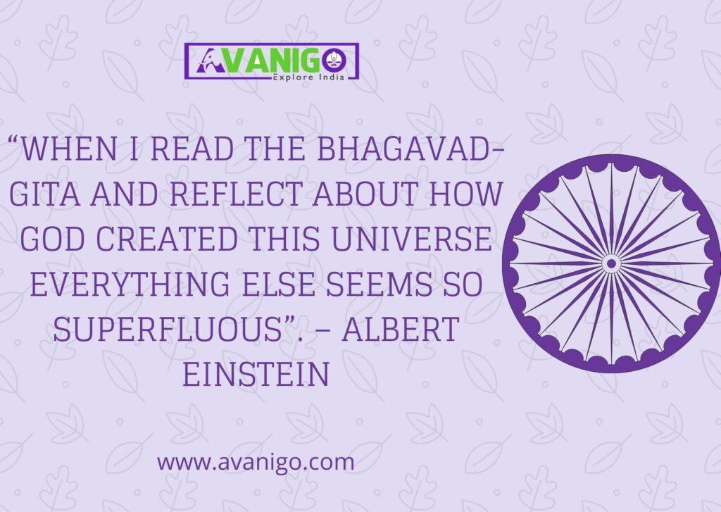 quote on indian culture by  Albert Einstein