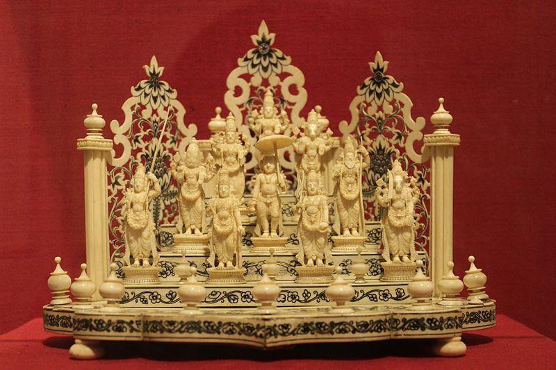 Dashavatar Carving on Ivory