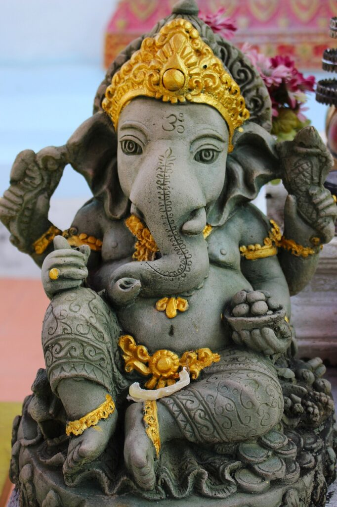 Ganesha the elephant faced God
