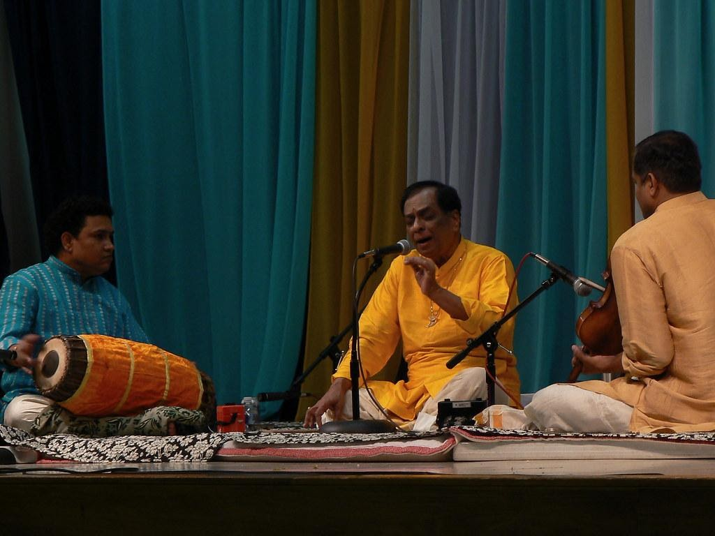Legendary Carnatic Musician Mangalampalli Bala Murali Krishna