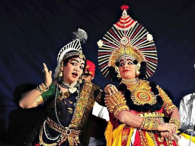 Yakshagana Dance Form of Karnataka