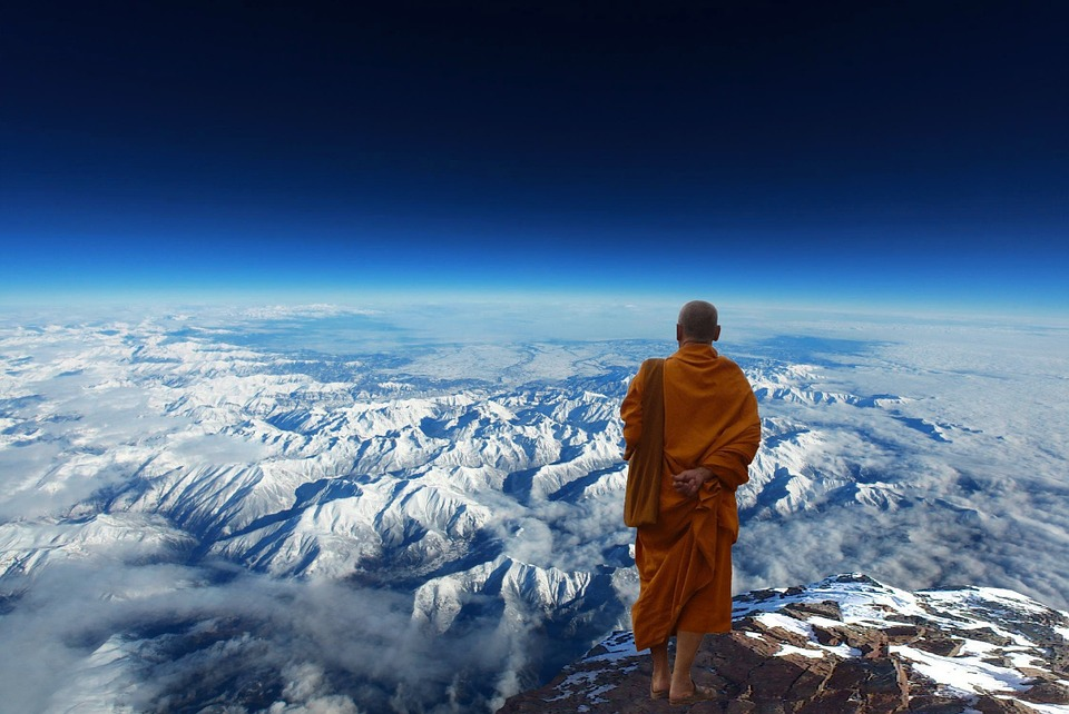 Himalayas are home for Hindu and Buddhist spiritual zones
